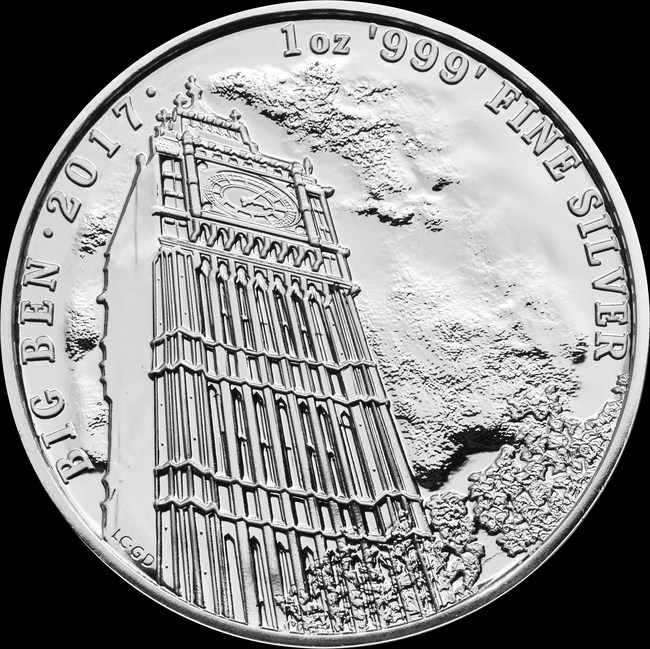 Britain's Royal Mint is enabling U.S. investors to pick up a little bit of London, with the Tower Bridge and Big Ben 'Landmarks of Britain' silver bullion coins.