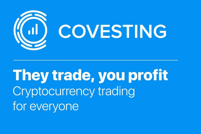Covesting brings Cryptocurrency investing to everyone www.covesting.io