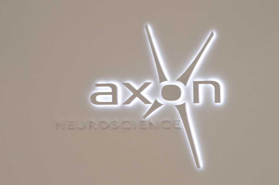 AXON Neuroscience is a clinical-stage biotech company and a global leader in the development of tau-immunotherapies (PRNewsfoto/AXON Neuroscience)