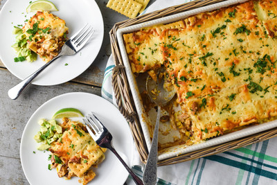 Turkey Taco Casserole featuring Club Original crackers - Recipe created by Damaris Phillips, chef and TV host