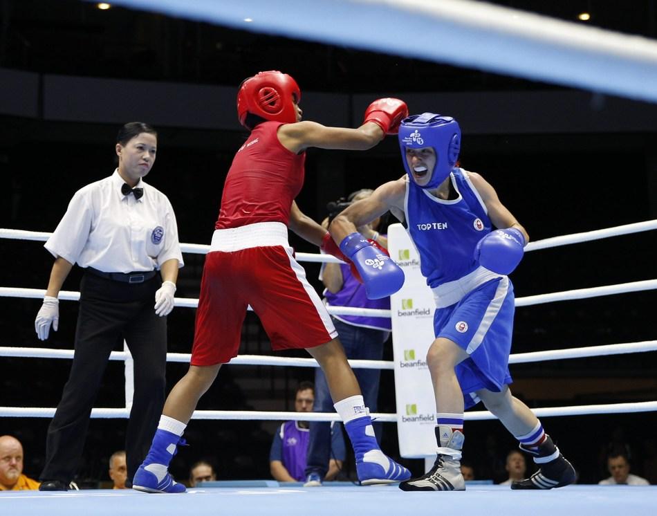 Mandy Bujold - Photo: David Jackson (CNW Group/Commonwealth Games Association of Canada)