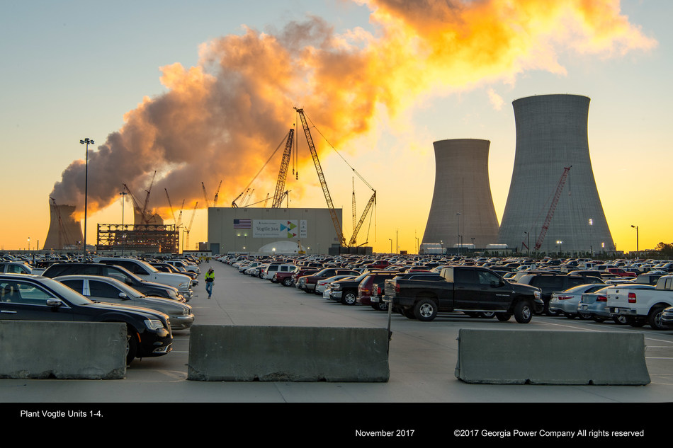 6,000 workers from across the country remain onsite working to move the Vogtle expansion forward at the end of 2017.