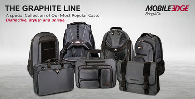 Just In Time For The New Year, Mobile Computing Consumers Can Refresh Their Weary Travel Bags With The New Graphite Line From Mobile Edge