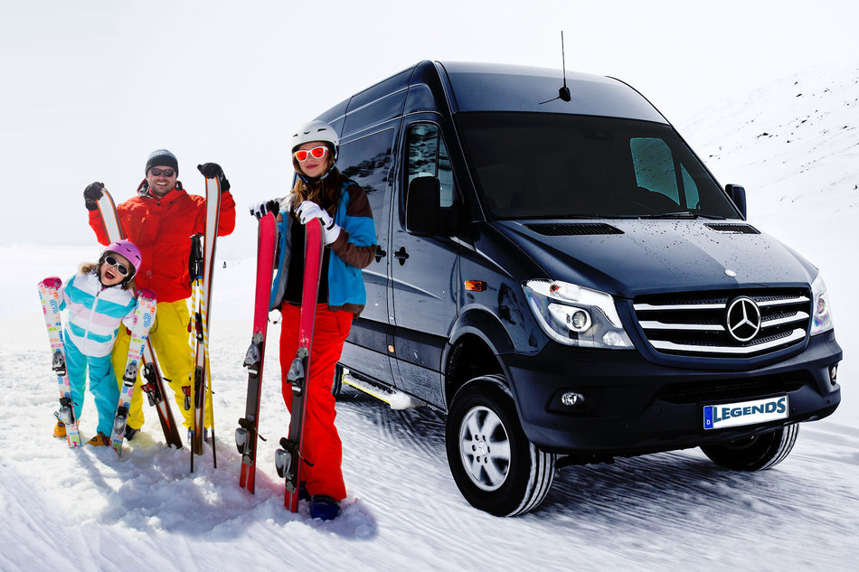 Legends Charters and Shuttle services between Denver Airport and Breckenridge.