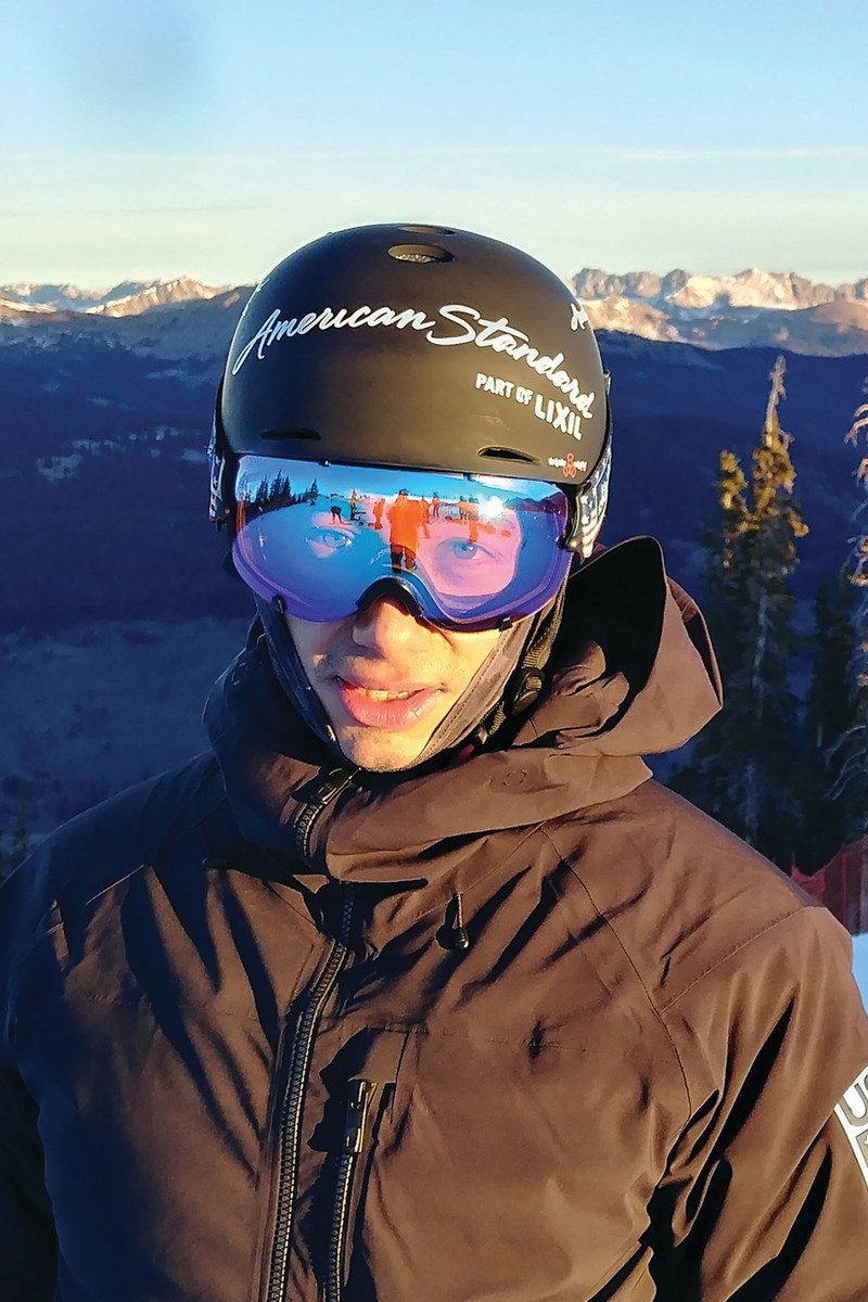 """American Standard announces a partnership with expert snowboard cross athlete, and experienced journeyman plumber, Jonathan Cheever as an """"American Standard Athlete""""."""