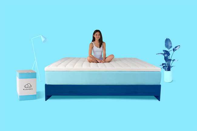The patent-pending Kloudes Topper is a convenient, cost-effective alternative to replacing aging mattresses.