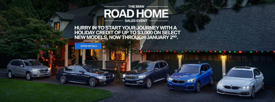 At the BMW Road Home Sales Event at Pacific BMW, San Fernando Valley and LA-area luxury car shoppers can take advantage of specials on new and used BMW models, as well as up to a $3,000 holiday credit on select BMW models.