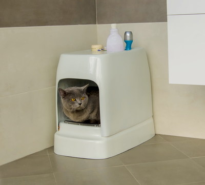 It Doesn t Require Any Refilling: CATOLET - the Unique Automatic Litter Box for Cats and Small Dogs.