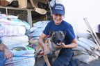 HELPING THE ANIMAL VICTIMS OF THE WILDFIRES: American Humane, Chicken Soup for the Soul Pet Food, the Banfield Foundation, Zoetis, and philanthropist Lois Pope delivered 3,000 pounds of free food to animals displaced by the California wildfires.