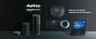 Skydrop is now integrated with all Amazon Echo devices