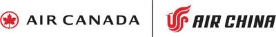 Logos: Air Canada and Air China (CNW Group/Air Canada)