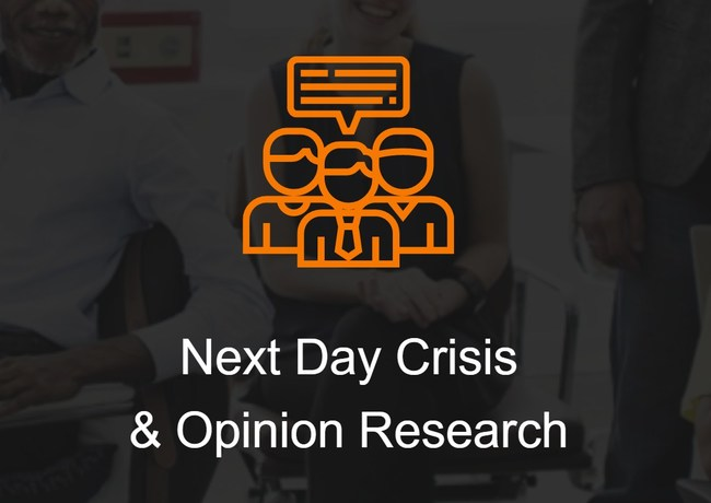 Next Day Crisis & Opinion Research