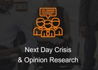 Next Day Crisis Communications & Opinion Survey Tool for Corporate Communications Professionals & PR Agencies Launched by CommunicationsMatch and Researchscape International