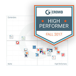 """Solodev again ranks as a top """"High Performer"""" in the G2 Crowd Grid for WCM"""