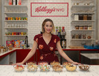 Designer, foodie and lifestyle expert Lauren Conrad designed several cereal creations for the new Union Square Kellogg's® NYC Café on Tuesday, Dec. 12, 2017, in New York. (Mark Von Holden/AP Images for Kellogg's) (PRNewsfoto/Kellogg Company)
