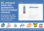 SC Johnson Goes Above and Beyond Regulatory and Industry Standards with Skin Allergen Transparency