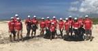 TeamCITGO Aruba Participates in Beach Cleanup