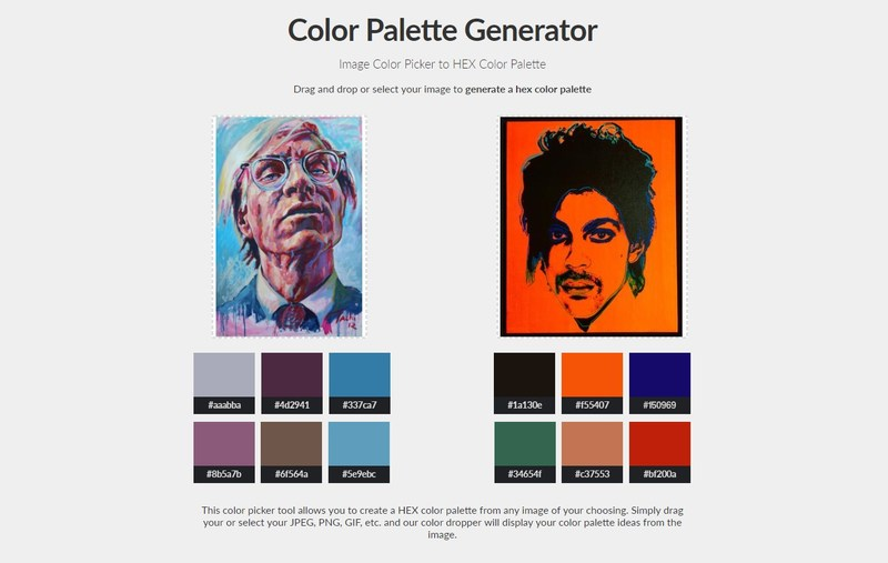 Color Palette Generator Allows Digital Artists to Pull a Full Color Scheme from Any Artwork