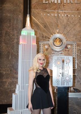 Gwen Stefani將參加帝國大廈的年度節日音樂燈光秀