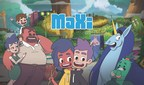 MaXi is a mobile format animated series geared to 6 to 12 year olds. (CNW Group/Groupe Média TFO)