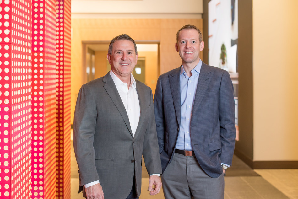 Target Chairman and CEO Brian Cornell and Shipt founder and CEO Bill Smith.