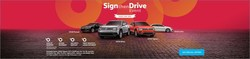 Sign then Drive Event at Michael Volkswagen
