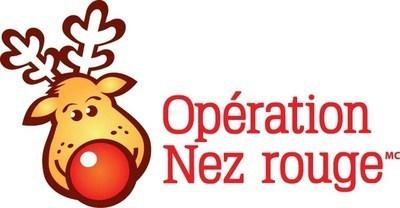 Logo : Opération Nez Rouge (Groupe CNW/Société de l'assurance automobile du Québec)