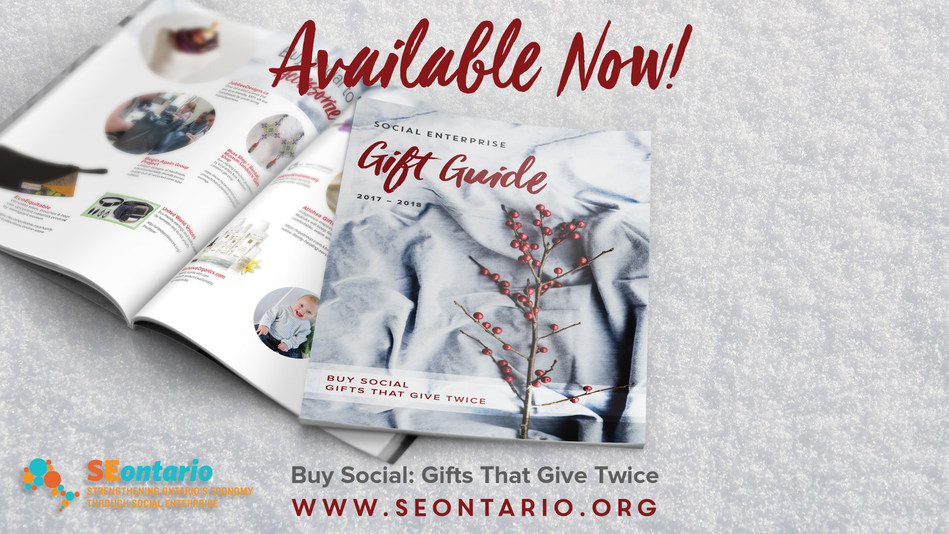Looking for the perfect holiday gift? The guide offers items that are eco-friendly, support vulnerable people, uplift neighbourhoods, have global impact, treat workers fairly, promote arts and culture, and are made locally. (CNW Group/Canadian Community Economic Development Network)