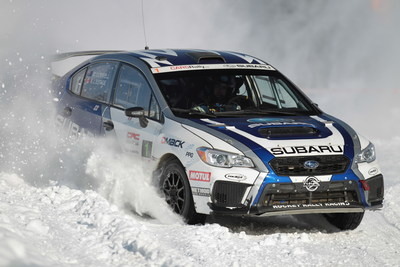 L'Équipe canadienne des rallyes Subaru remporte la victoire au rallye Big White Winter de C.-B. (Groupe CNW/Subaru Canada Inc.)