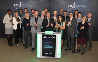 AtmanCo Inc. Opens the Market (CNW Group/TMX Group Limited)