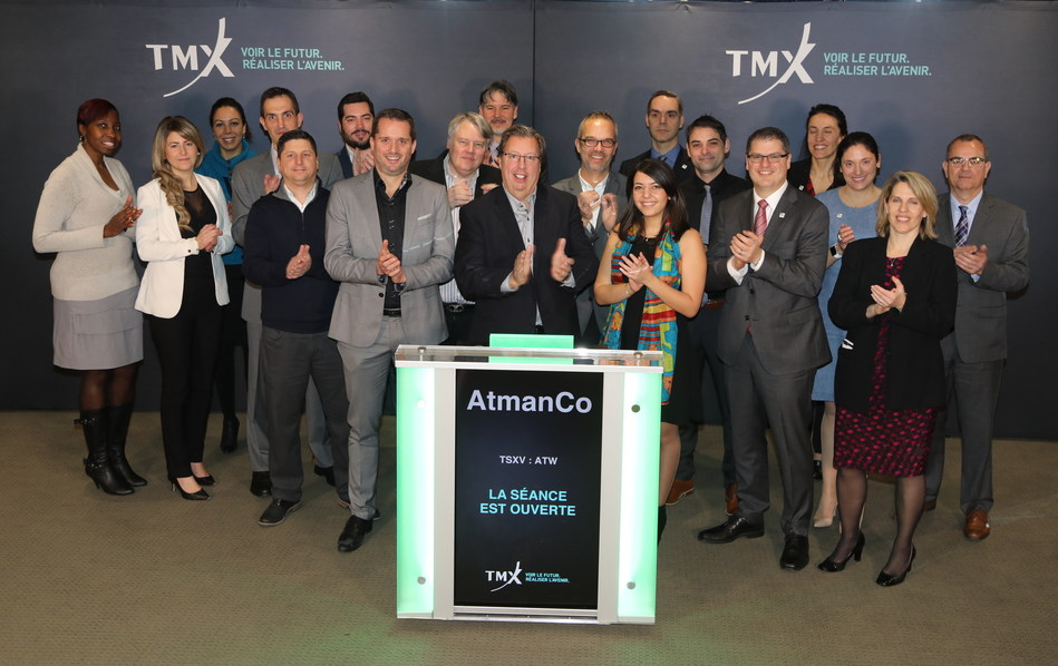 AtmanCo Inc. Opens the Market (CNW Group/TMX Group Limited)