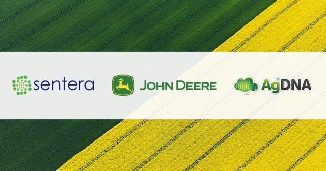 Sentera and AgDNA announce completion of API integration work that allows users to seamlessly share real-time in-season precision ag information using the John Deere Operations Center.