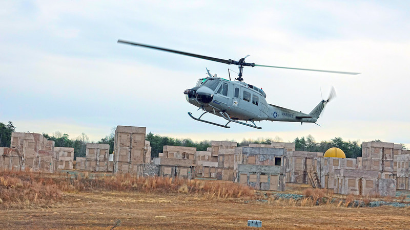 Aurora demonstrates a fully autonomous UH-1H at Marine Corps Base Quantico