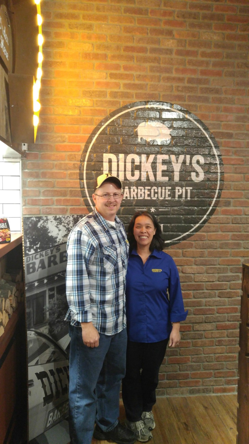 New franchisee Bill DeArmey opens his first Dickey's Barbecue Pit location in Cary, NC.