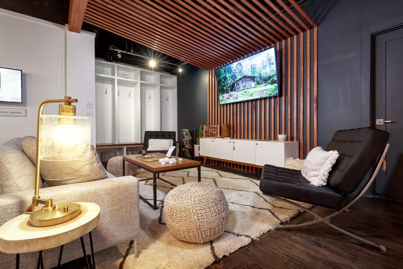 Swedish Lodge lounge area
