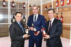Hon. Brad Duguid, Minister of Economic Development and Growth, Massimo Mottura, president, Campari Canada and Hon. Michael Chan, Minister of International Trade together announce $5-million investment for redevelopment of Forty Creek Distillery in Grimsby, Ontario. (CNW Group/Campari Canada)