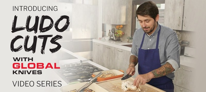 """""""Ludo Cuts with GLOBAL Knives"""" Video Series Starring Chef Ludo Lefebvre Released Exclusively on GLOBAL Cutlery USA's Website"""