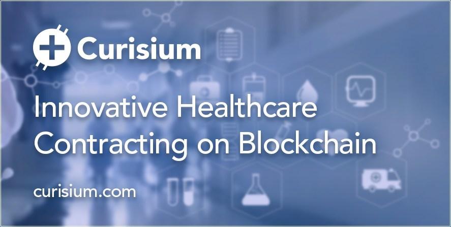 Curisium Raises $3.5M to Scale Innovative Healthcare Contracting on Blockchain