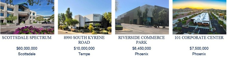 Walker & Dunlop Team Closes $86 Million in Financing for Office and Industrial Portfolio in Arizona