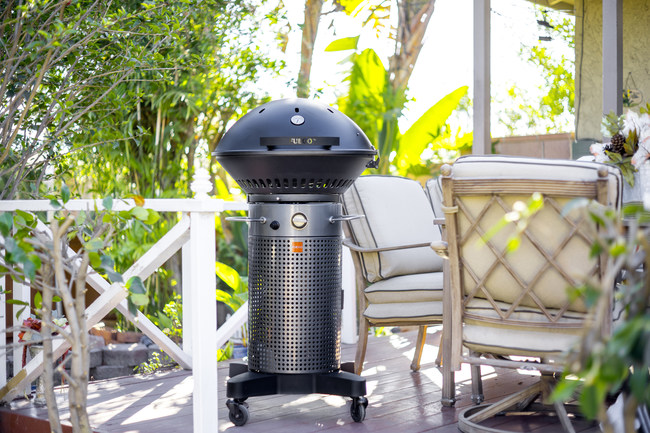 The Fuego Professional is perfect for any patio, backyard or deck.