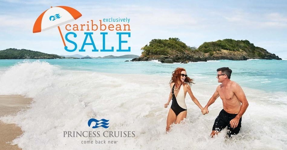 """Princess Cruises """"Exclusively Caribbean Sale"""" Offers Best Fares of the Season"""