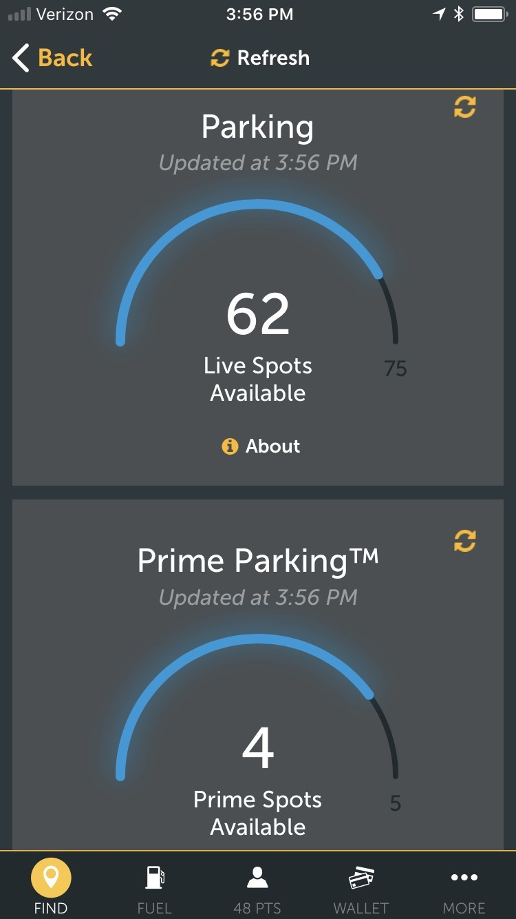 Pilot Flying J's myPilot app now delivers Live Parking for its guests to view parking space availability in real-time at select Pilot Flying J locations.