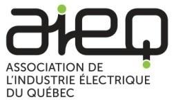 Logo : Association de l'industrie électrique du Québec (Groupe CNW/Association de l'Industrie Électrique du Québec (AIEQ))