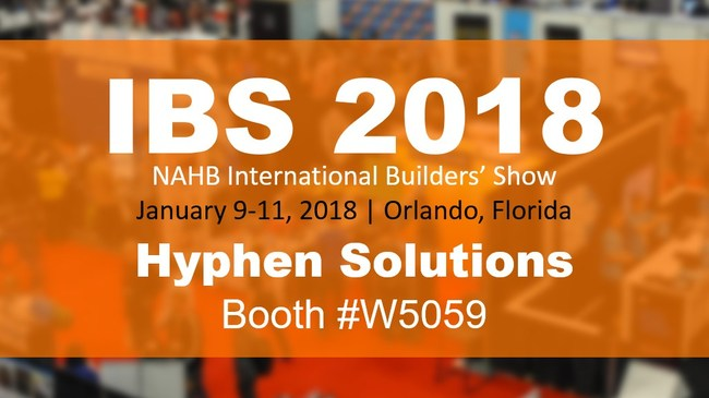 Hyphen Solutions at IBS 2018 Booth #W5059