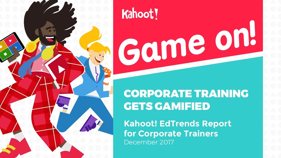 Corporate training gets gamified. Read about trends and best practices for corporate trainers in Kahoot! EdTrends Report.