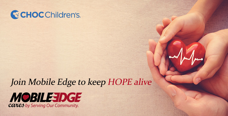 Happy Holidays! Let's Nurture, Advance and Protect the Health and Well-Being of Children - Mobile Edge Cares