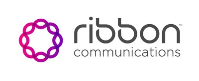 Ribbon Communications Inc. Logo (PRNewsfoto/Ribbon Communications)
