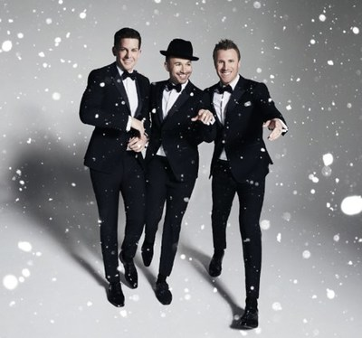See The Tenors performing at The Hollywood Christmas Parade, a two-hour primetime special tomorrow – Friday, December 15, 2017 -- on The CW at 8:00 p.m. ET / PT (7:00 p.m. CT).