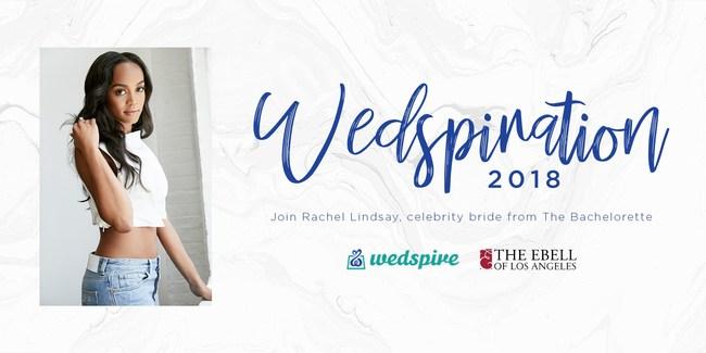 Rachel Lindsay - official partner for Wedspiration 2018