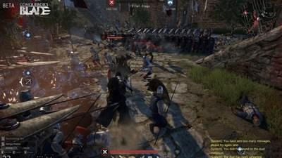 Realistic medieval combat